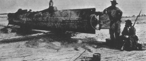 Le Hunley, le premier sous-marin opérationnel de l'histoire